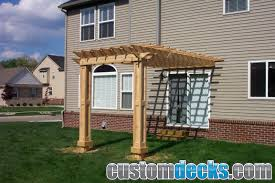 trellis and pergola photos mge carpentry trex deck builder in