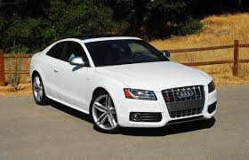 audi s5 coupe white 2009 audi s5 coupe review test drive