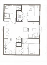 Two Bedroom Apartment Floor Plans 10 Awesome Two Bedroom Apartment 3d Floor Plans Architecture In