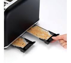 Asda Toasters Buy Morphy Richards Accents 242104 4 Slice Toaster Black U0026 Rose