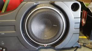 shaker pro amp and subwoofer replacement ford mustang forum