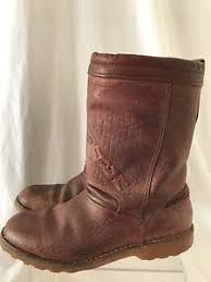 s boots in size 11 alpinestars brown leather s boots size 11 made in italy ebay