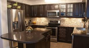 kitchen colors with dark cabinets what paint colors go with dark