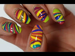 126 best rainbow nail art designs and tutorials images on