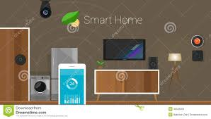 smart items for home smart home internet of things illustration 49526009 megapixl