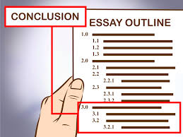 outline samples for an essay 3 easy ways to write an essay outline wikihow