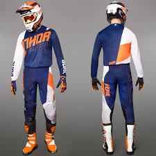 thor motocross jerseys thor motocross u0026 enduro mx combo thor pulse aktiv blue maciag