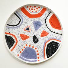 serving plate serving plate handmade ceramics uk sally mcgill ceramics