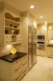 Black And White Kitchen Interior by Kitchen Backsplash Kitchen Backsplash Photos White Kitchen Ideas