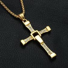 cross pendant chain necklace images Dom 39 s cross pendant chain necklace the fast and the furious jpg