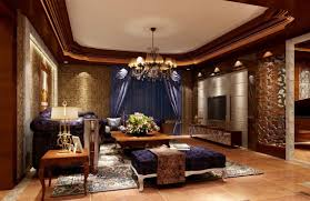 luxury living room design european style restoring ancient 3d