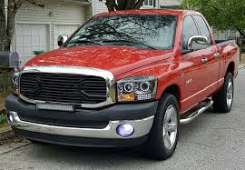 Dodge Ram Cummins Grill - doge ram 1500 black big horn grill projector hid with halo