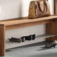 Antique Foyer Bench Furniture Wildwood Wood Veneer Entryway Bench And Rustic Gray