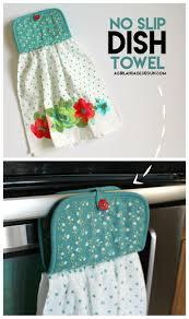Kitchen Towel Holder Ideas Dish Towel Fabric Crossword Towel