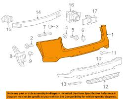 lexus nx200t tampa lexus toyota oem 15 16 nx200t rear bumper cover 5215078901