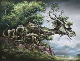 dragon tree wallpaper mural severine pineaux wallsauce usa dragon tree wall mural photo wallpaper