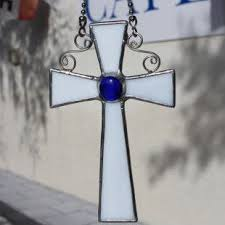 best 25 stain glass cross ideas on easter craft