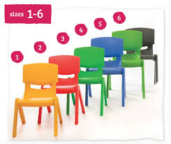 Postura Chairs Schools Kite Stackable Plastic Chair 30cm Chairs Ease Ie