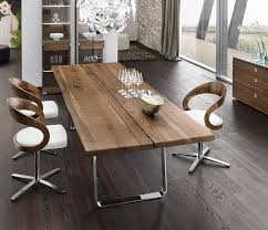 Modern Glass Kitchen Tables by Contemporary Kitchen Luxury Walnut Metal Dining Table Solid Wood