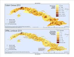Map Cuba Cuba Population Density Global Cultural Knowledge Network