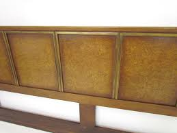 Furniture Jack Cartwright Furniture Home by Mid Century Burl King Headboard By Jack Cartwright For Founders At