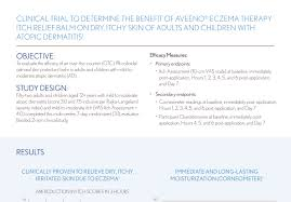 clinical data aveeno configure the benefit a balm for dry itchy skin of atopic dermatitis