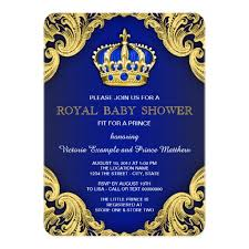 fancy invitations fancy prince baby shower blue invitation card ladyprints