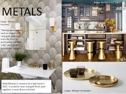 home design gold interior design trends