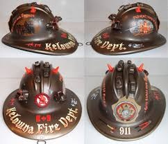 Fire Helmet Lights Mixed Media