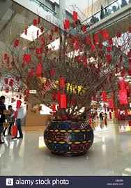 new year decoration china hong kong lunar new year decoration in shopping mall