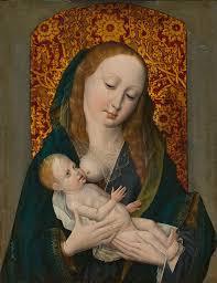 31 beautiful paintings of mary nursing the baby jesus churchpop
