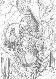 crusader death u0027s duet sketch by muju on deviantart