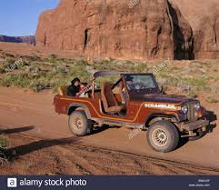scrambler jeep jeep scrambler cross country vehicle navajo reserve utah usa
