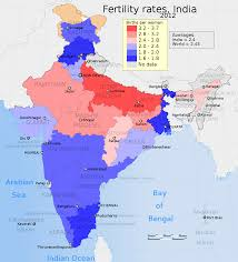 Most Beautiful Us States Indian States Ranking By Fertility Rate Wikipedia