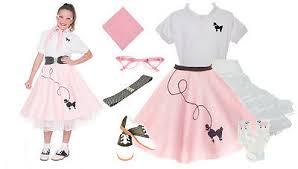 hip hop 50s shop 8 pc medium girls 7 9 girls poodle skirt