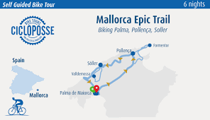 Mallorca Spain Map by Bike Tour Mallorca Island From Palma To Serra Tramuntana Cicloposse