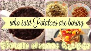 5 healthy potato recipes 0 fat high carb diet cleanse