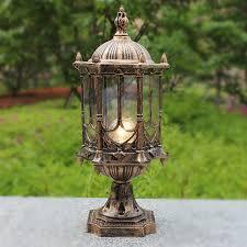 Antique Outdoor Lighting Popular Outdoor Bollard Lights Buy Cheap Outdoor Bollard Lights