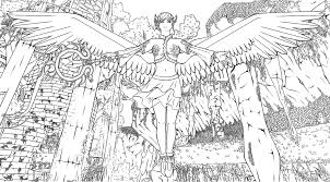 Detailed Coloring Pages Detailed Coloring Pages Of Angel For Girls Coloringstar by Detailed Coloring Pages