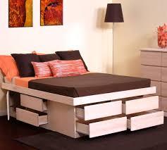 King Platform Storage Bed With Drawers King Storage Bed Drawers U2014 Modern Storage Twin Bed Design King