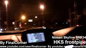 nissan skyline videos youtube 1999 nissan skyline r34 gt r acceleration exhaust sound youtube