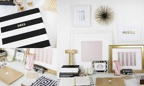 Desk Decor Ideas by Workspace Tour My Desk Beauty Blogger Teni Panosian Youtube