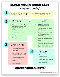 how to clean house fast quick cleaning checklist fabulous your house is going to be so