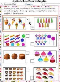grade lkg maths part1 worksheets cbse icse