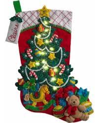 bucilla christmas amazing deal on bucilla christmas tree w lights