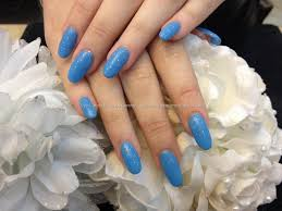 eye candy nails u0026 training full set of oval shaped acrylic nails