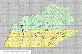 How To Read A Topographic Map Kentucky Tennessee 1 24 000 Topographic Map Index