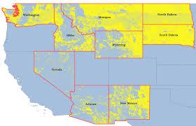 Idaho Montana Map by First Landowners Map Az Id Mt Nv Nm Nd Sd Wa Wy Western United States