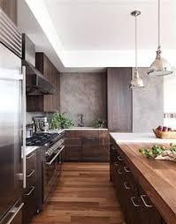 a dark and handsome kitchen kitchens walnut cabinets and
