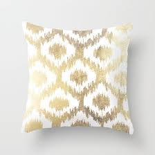 gold pillows an amazing thing home and textiles